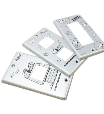 【Workson】LWD ALUMINUM SWITCH PLATE