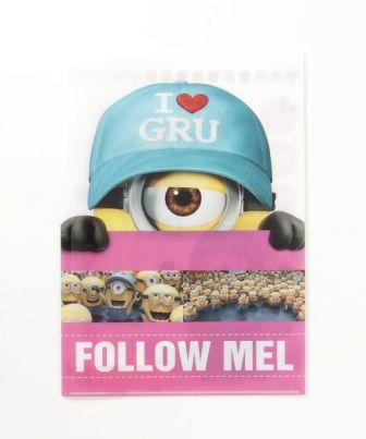 Wポケットクリアファイル / Follow Mell
