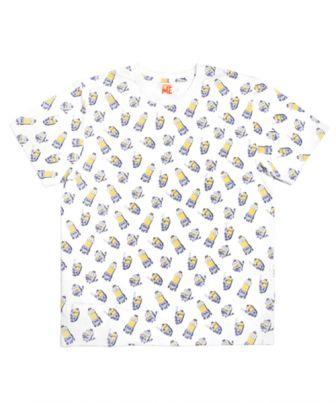 ミニオン×ベイスターズ Tシャツ / 総柄