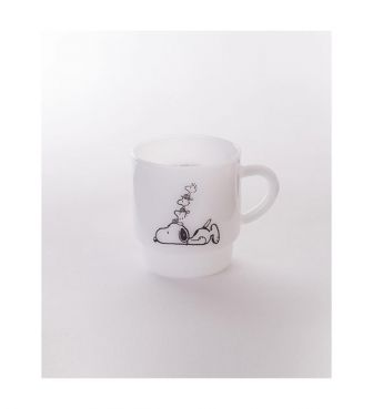 <MILKWARE>STACKING MUG / SNOOPY3