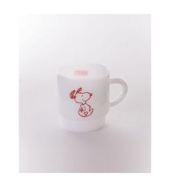<MILKWARE>STACKING MUG / SNOOPY2