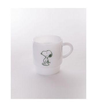 <MILKWARE>STACKING MUG / SNOOPY1