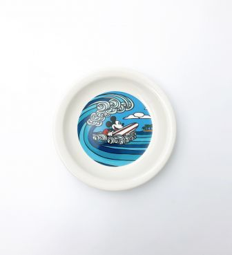 【SURF MICKEY COLLECTION / Heather Brown】PLATE(S) / WAVE RIDER