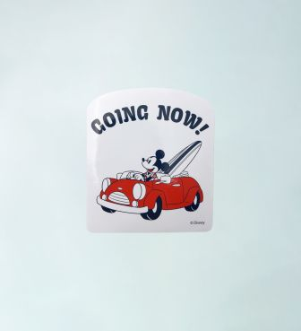 【SURF MICKEY COLLECTION】STICKER / GOING NOW!