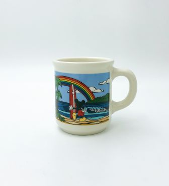 【SURF MICKEY COLLECTION / Heather Brown】MUG / RAINBOW