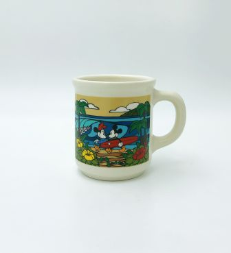 【SURF MICKEY COLLECTION / Heather Brown】MUG / COME SURF WITH ME