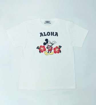 【SURF MICKEY COLLECTION】T-SHIRT / ALOHA