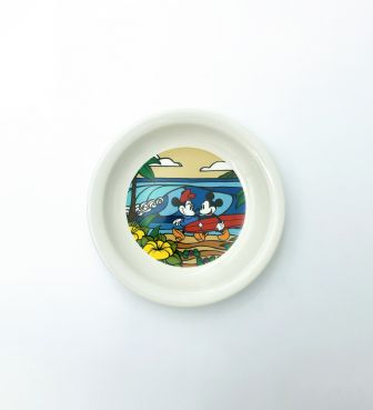 【SURF MICKEY COLLECTION / Heather Brown】PLATE(S) / COME SURF WITH ME