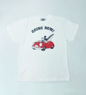 【SURF MICKEY COLLECTION】T-SHIRT / GOING NOW!