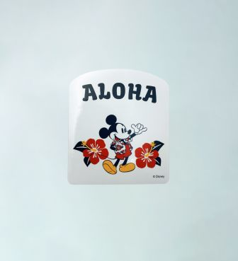 【SURF MICKEY COLLECTION】STICKER / ALOHA