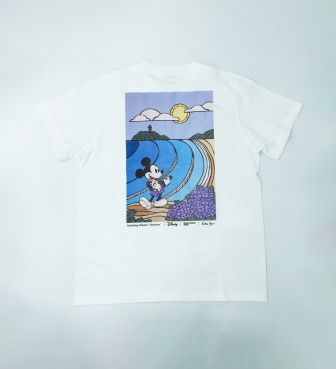 【SURF MICKEY COLLECTION / Heather Brown】T-SHIRT / KAMAKURA
