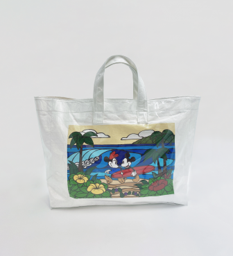 【SURF MICKEY COLLECTION / Heather Brown 】TOTE BAG / COME SURF WITH ME