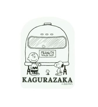 <PEANUTS TRAILER SHOP>STICKER / TRAILER ART