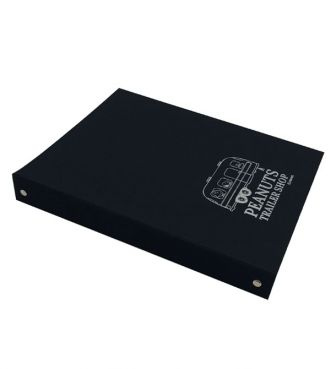 <PEANUTS TRAILER SHOP>ORIGINAL BINDER / 4 RINGS