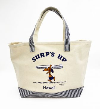 【SURF'S UP PEANUTS】トートバッグ(L) / SURF'S UP