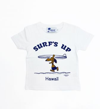 【SURF'S UP PEANUTS】Tシャツ キッズ / SURF'S UP