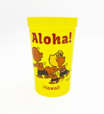 【SURF'S UP PEANUTS】プラカップ / ALOHA