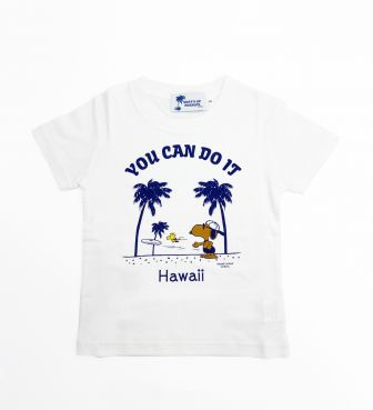 【SURF'S UP PEANUTS】Tシャツ キッズ / YOU CAN DO IT