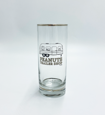 <PEANUTS TRAILER SHOP> ORIGINAL GLASS