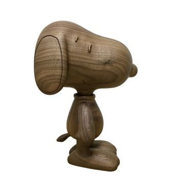 <KARIMOKU>SNOOPY WOODEN FIGURE