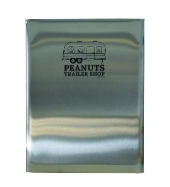 <PEANUTS TRAILER SHOP>ORIGINAL TRASH CAN