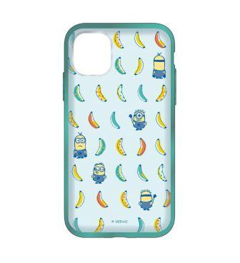 怪盗グルーシリーズ/ミニオンズ IIII fit Clear iPhone11/iPhoneXR 対応ケース バナナ GOUR