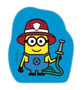 ミニオンズ てのひらスタンプ 消防士 ISHI