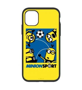 怪盗グルーシリーズ/ミニオンズ IIII fit iPhone11/iPhoneXR 対応ケース サッカー GOUR