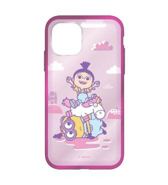 怪盗グルーシリーズ/ミニオンズ IIII fit Clear iPhone11Pro 対応ケース アグネス GOUR