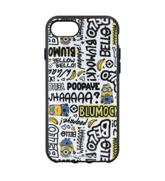 怪盗グルーシリーズ ミニオンズ IIII fit iPhoneSE(第2世代)/8/7/6s/6対応ケース セリフ GOUR