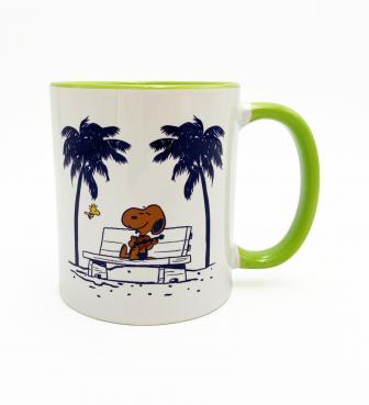 【SURF'S UP PEANUTS】MUG CUP / UKULELE