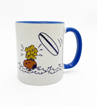 【SURF'S UP PEANUTS】MUG CUP / WIPE OUT