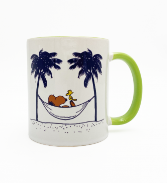 【SURF'S UP PEANUTS】MUG CUP / A LITTLE REST