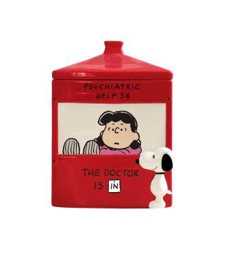 【Department 56】クッキージャー スヌーピー&ルーシー