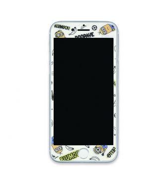 『怪盗グルー/ミニオンズ』シリーズ iPhoneSE(第2世代)/8/7/6s/6対応ガラススクリーンプロテクター セリフ GOUR