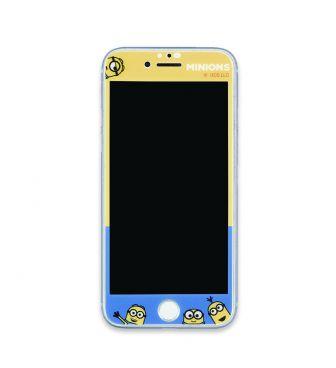 『怪盗グルー/ミニオンズ』シリーズ iPhoneSE(第2世代)/8/7/6s/6対応ガラススクリーンプロテクター アイコン GOUR