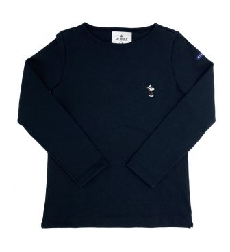 <LE MINOR> WOMENS LONG SLEEVE CUT & SEWN B.K