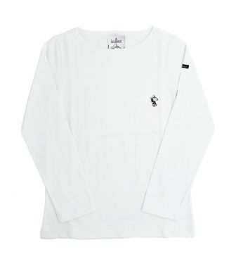 <LE MINOR> WOMENS LONG SLEEVE CUT & SEWN W.T