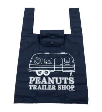 <PEANUTS TRAILER SHOP> ORIGINAL ECO BAG / TRAILER (S)