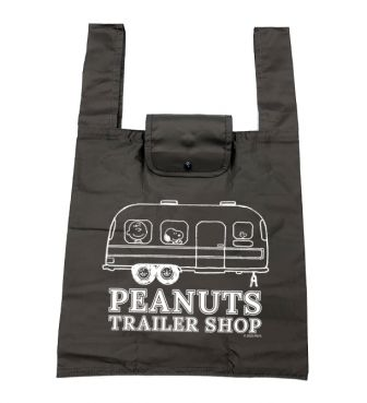 <PEANUTS TRAILER SHOP> ORIGINAL ECO BAG / TRAILER (M)