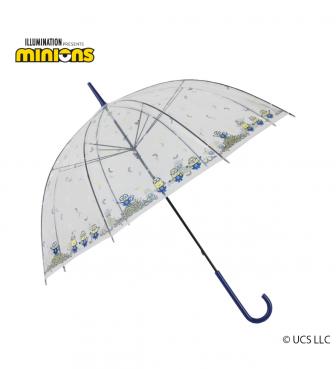 ミニオン 雨用 ビニール傘 バナナまみれ