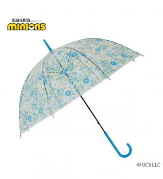ミニオン 雨用 ビニール傘 ポップフラワー