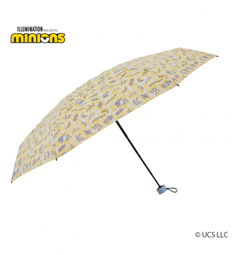 ミニオン 雨用 5段折畳傘 バナナライフ