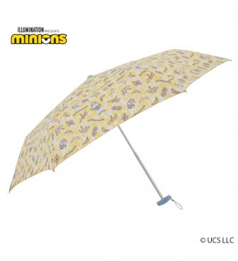 ミニオン 雨用 3段折畳傘 バナナライフ