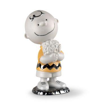 <リヤドロ>チャーリー・ブラウン 陶磁器人形