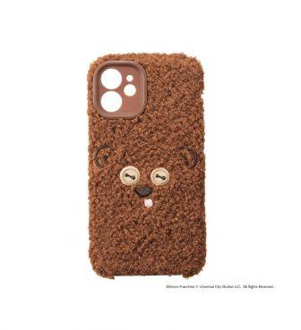 iPhone 12 mini対応 ミニオンズ フラッフィーケースティム