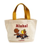 【SURF'S UP PEANUTS】TOTE BAG MINI / ALOHA