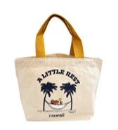 【SURF'S UP PEANUTS】TOTE BAG MINI / A LITTLE REST