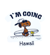 【SURF'S UP PEANUTS】STICKER / I'M GOING