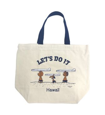 【SURF'S UP PEANUTS】TOTE BAG SMALL / LET'S DO IT